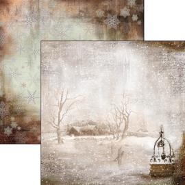 Ciao Bella - Winter Is The Time For Home   - 30,5 X 30,5 CM - CBSS057