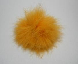 Pom-Pon Fluffy Okergeel