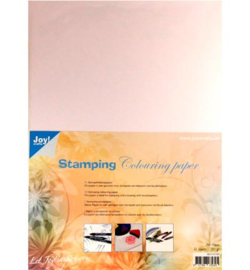 Joy! Crafts Stamping Colouring Paper  8011/0700