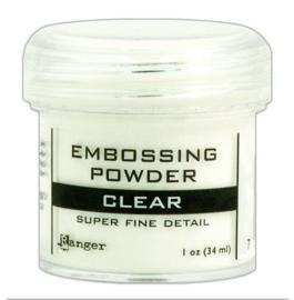 Ranger - Embossing Powder - Super Fine Clear - 34 ml.