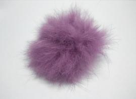 Pom-Pon Fluffy Paars/Lila