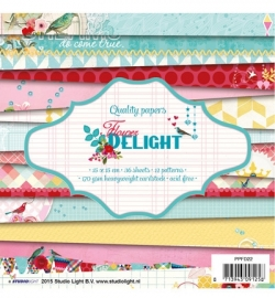 Studio Light Paper Pad PPFD22 Flower Delight