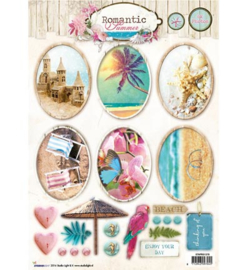 Studio Light Romantic Summer A4 Stap voor stap  STAPRS1378