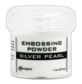 Ranger - Embossing Powder - Silver Pearl- 34 ml.