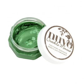 Nuvo - Crackle Mousse - Chameleon Green