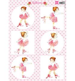 Marianne D 3D Knipvellen Balletdanseres VK9558