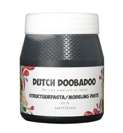 Dutch DooBaDoo -Structuur pasta zwart  -250ml