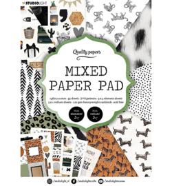 Studio Light - Mixed Paper Pad Pattern paper Essentials nr.5