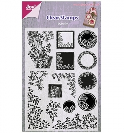 Joy!Crafts Clear Stamps Leaves 6410/0329