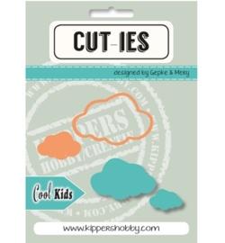 CUT-IES Snij- en Embosmal Cool Kids Cloud 20065