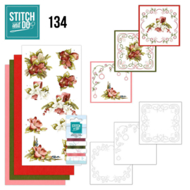 Stitch and Do 134 - Precious Marieke - Touch of Christmas