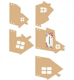 460.440.180 - Dutch DooBaDoo - MDF Houses