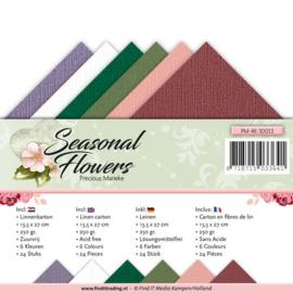 Linnenpakket - Vierkant - Precious Marieke - Seasonal Flowers