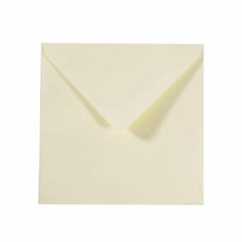 Florence - Enveloppen 16x16cm Ivoor - 5 stuks
