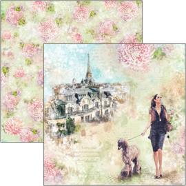 Ciao Bella - Notre Vie - 30,5 X 30,5 CM - Les Rues de Paris - CBSS150