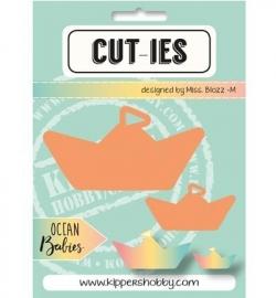 CUT-IES Snij- en Embosmal Ocean Babies - Paperboat -20069