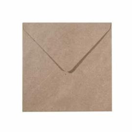 Florence - Enveloppen 11,4 x 16,2 Kraft - 25 stuks
