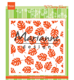 Marianne D Embossing Folder -  Tropical Leaves - DF3449
