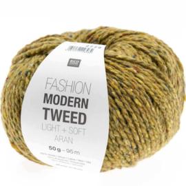 Rico Fashion Modern Tweed Light + Soft Aran - 383273.013 - Geel