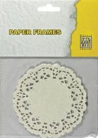 Paper Frames Rond 12 stuks 10 cm