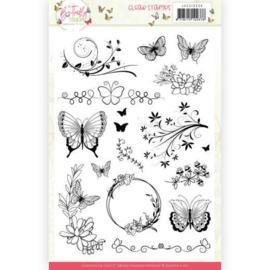 Clear Stamps - Jeanine's Art - Butterfly Touch