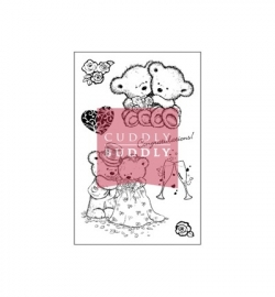 Cuddly Buddly Clear Stamps Love Is In The Air CBS0017