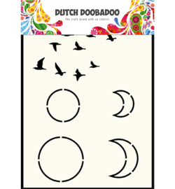 Dutch Doobadoo Mask Art -  Sky  -  A6 -  470.715.401