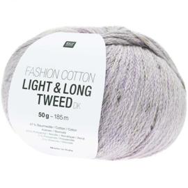 Rico Fashion Cotton Light & Long Tweed  - 383281.010  -  Lilac