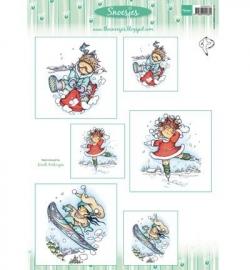 3DHM074 - Snoesjes - Snoesje & wintersport