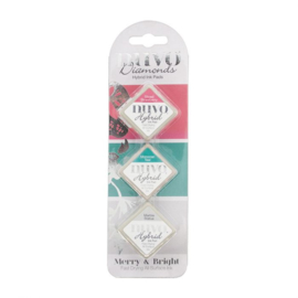 Nuvo - Diamonds Hybrid Ink Pads -  Merry & Bright  - 87N
