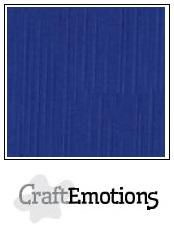 CraftEmotions linnenkarton 10 vel  Hemelsblauw  30,5x30,5cm