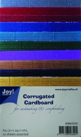Joy! Crafts Ribbelkarton Metallic 8089/0220