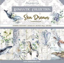 Stamperia - Romantic Sea Dream - Paper Pack - 20.3 x20.3 cm