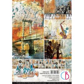 Ciao Bella - Blue Note - Dubbelzijdig Creative Pad - A4 - CBCL043