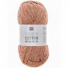 Rico Fashion Cotton Métallisé 014 Kupfer