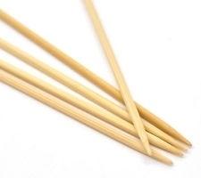 Rico Design Nadelspiel Bambus 20 cm / 2,5 mm