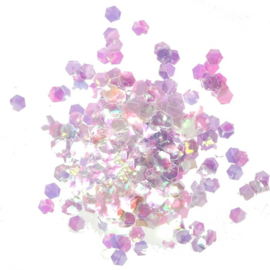 Cosmic Shimmer - Glitter Jewels - Aurora Hexagon