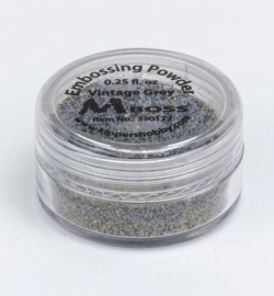 Embossing Powder Vintage Grey 390122