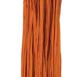 Natuur Raffia 25 gram Oranje kleur nr 57