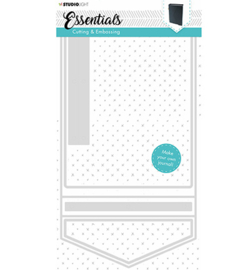 Studio Light - Embossing Die Cut Stencil Essentials nr.254