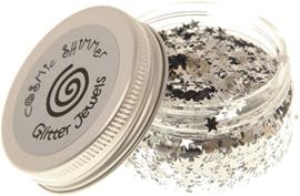 Cosmic Shimmer - Glitter Jewels - Silver Stars