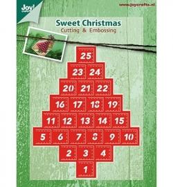Joy! Crafts Sweet Christmas Advent Calender 6002/2037