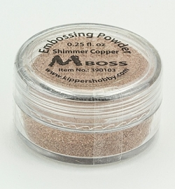 Embossing Powder Shimmer Copper 390103