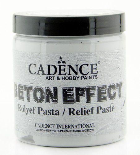 Cadence - Beton Effect Relief Pasta - Grijs