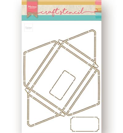Marianne Craft Stencil -Envelope-PS8071