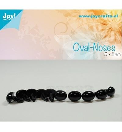 Joy!Crafts Oval-noses 15 x 11 mm Zwart