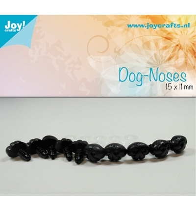 Joy!Crafts Dog-noses 15 x 11 mm Zwart