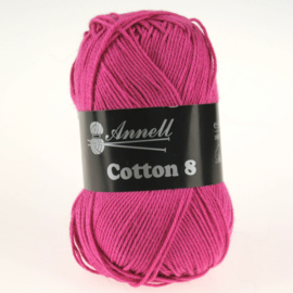 Cotton 8 - 52 fuchsia/paars