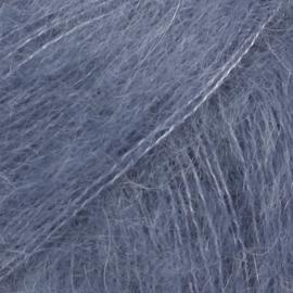Kid-Silk Uni 39 stormblauw