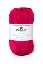 100% Baby Cotton 755 raspberry